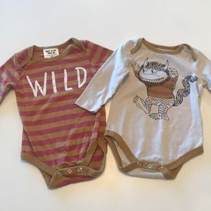 Where the Wild Things are onesie.